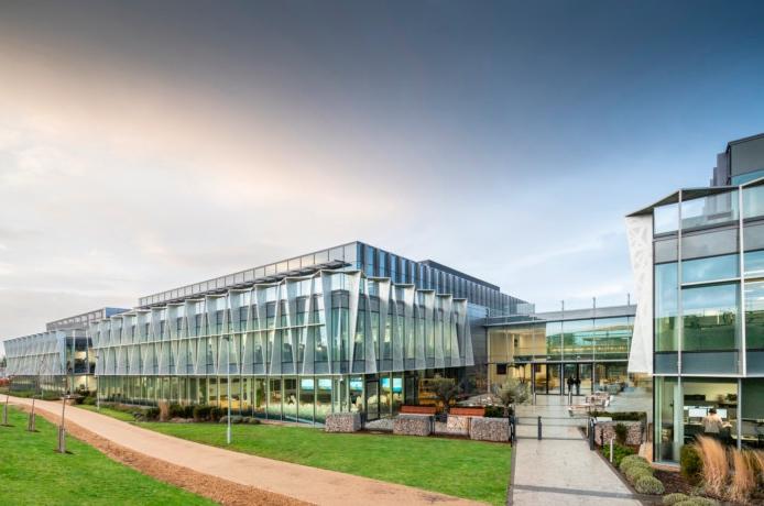 Arm's headquarters in Cambridge