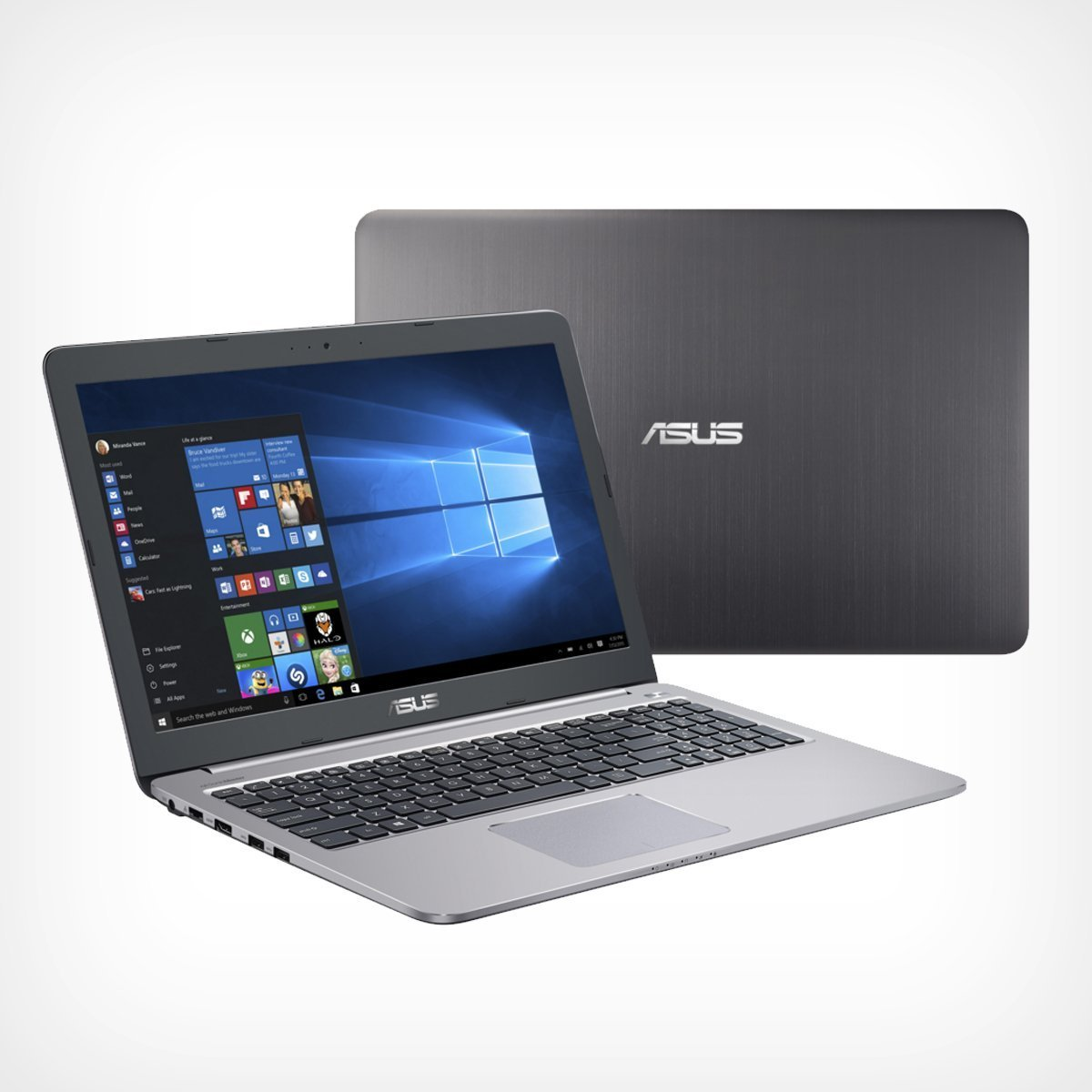 The Asus gaming laptop