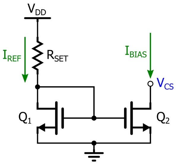 basic mosfet constant-current source
