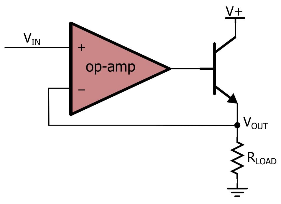 How to Buffer an Op-Amp Output for Higher Current, Part 1