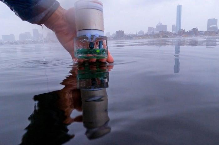 Battery-free sensor
