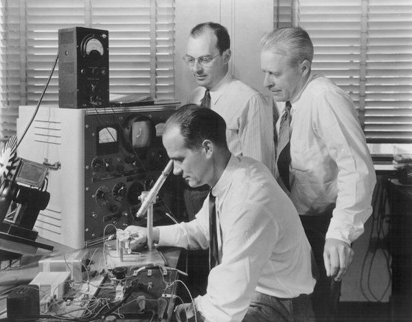 Bell Labs scientists