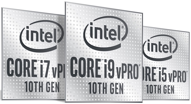 Intel's 10th Gen Intel Core vPro processors