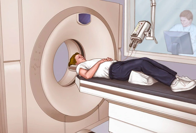 CT scans use a series of X-rays to captures cross-sectional images of the body