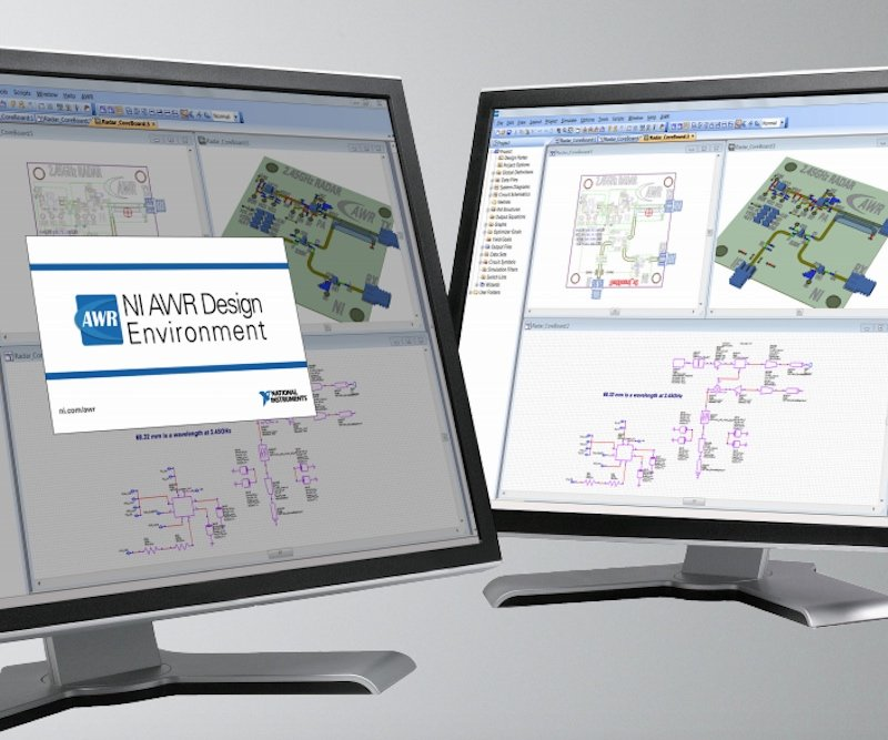 National Instrument's AWR design environment.