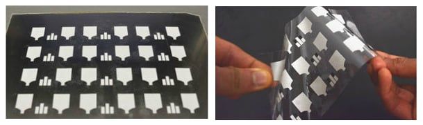 flexible printed Chem-Phys patches