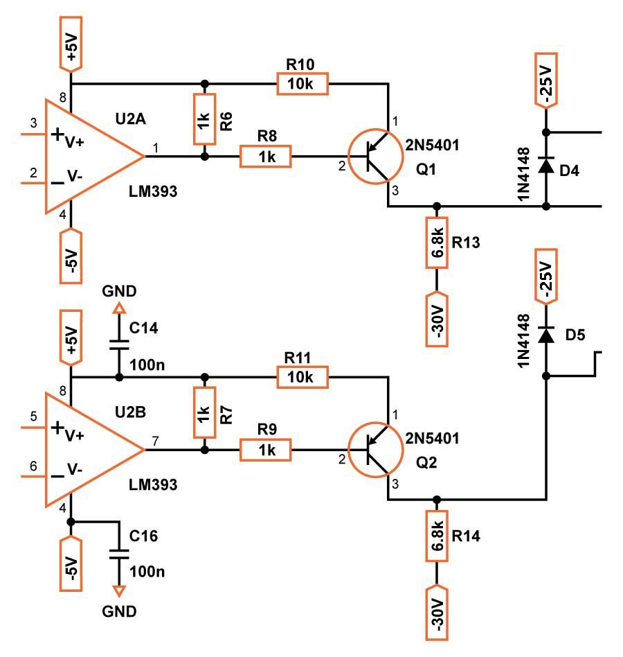 How To Build A Class D Power Amp Op Cut Off When Certain Voltage From Sensor Is Comparator