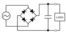 Classic full-wave rectifier circuit