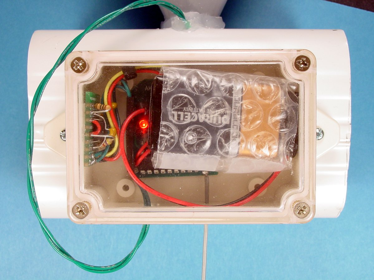 Build A Wireless Tipping Bucket Rain Gauge Part 2adding The Wiring Up Reed Switch Mount