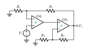 Composite amplifier to achieve a wider bandwidth