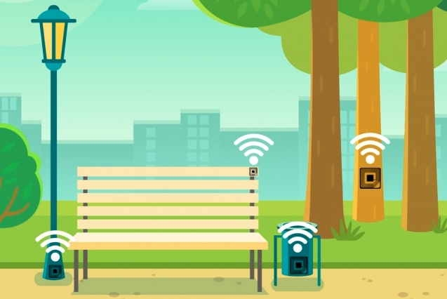 Conceptual implementation of RFID sensors