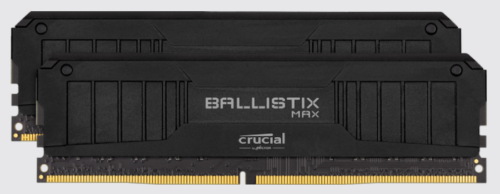 Crucial provides customizable DRAM modules along with an aluminum heat spreader that provides maximum heat dissipation