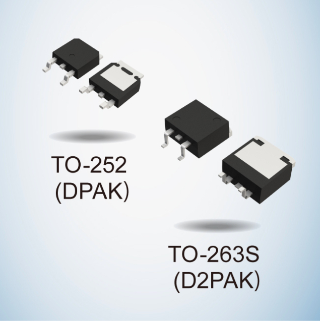 TO-252 DPAK and TO-263s D2PAK
