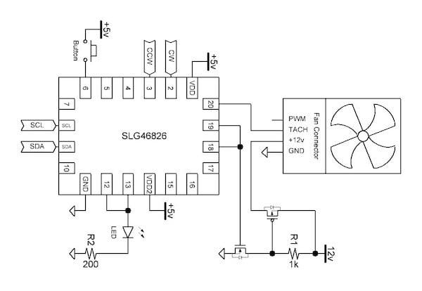 fan controller block diagram