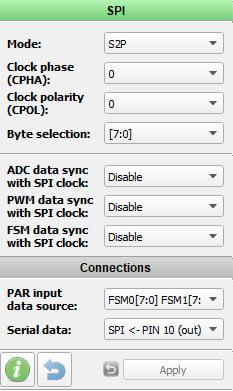 SPI configuration