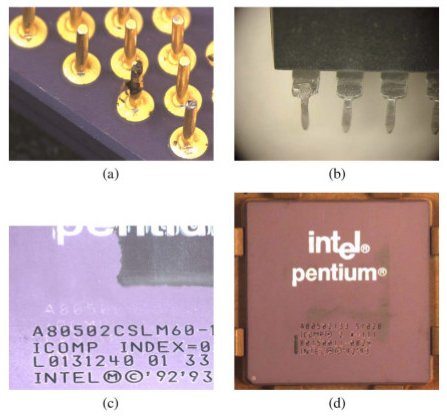 Different signs of a counterfeit part