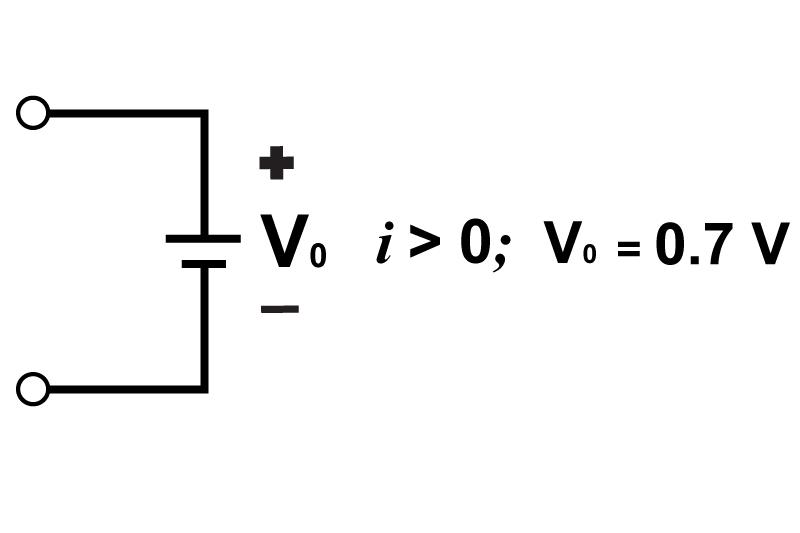 analysis of forward conducting diodes