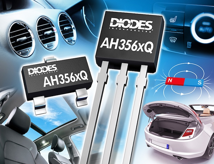 Diodes Incorporated Releases New Series of Hall-Effect