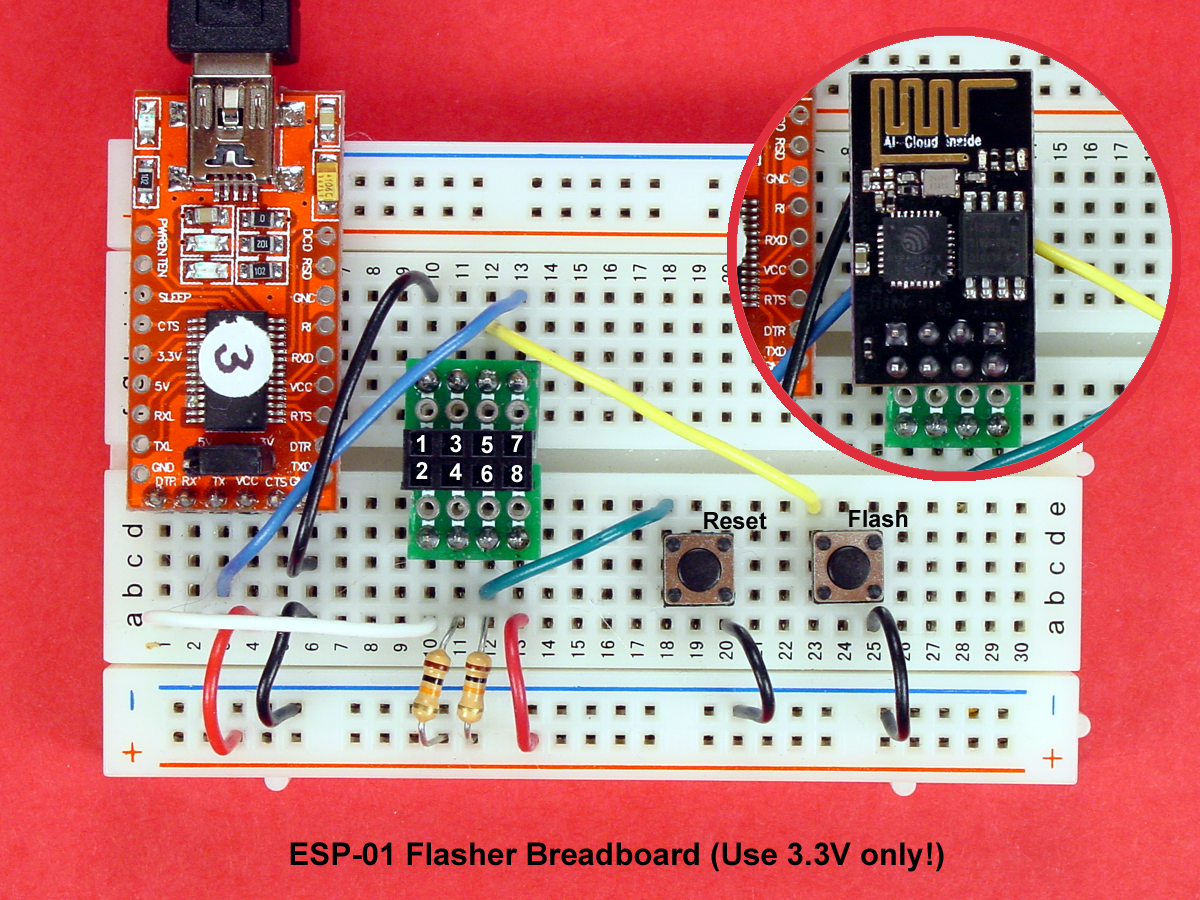 Build A Picaxe Esp 01 Wi Fi Communicator Making Printed Circuit Boards The Board