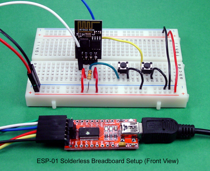 Breadboard And Program An Esp