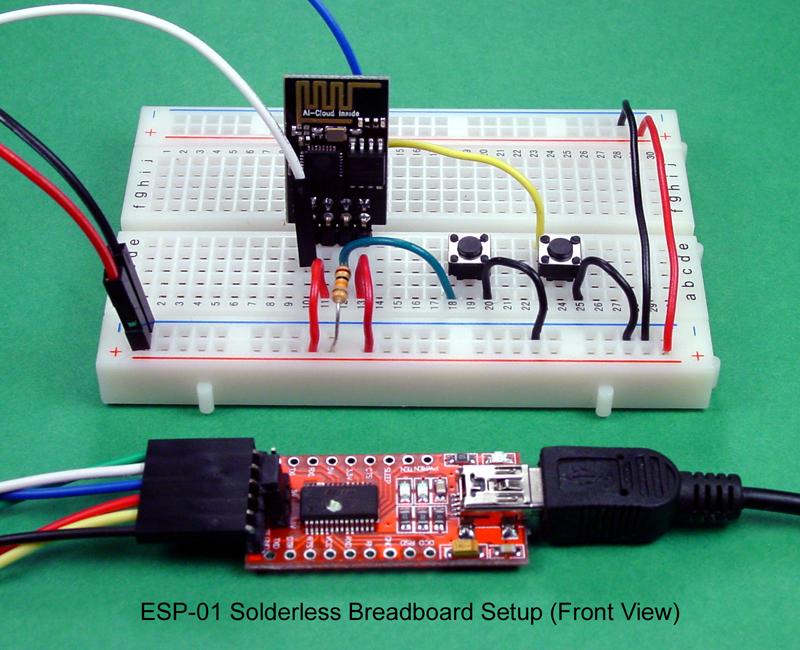 Esp Solderless Breadboard Front View on Usb Wiring Schematic
