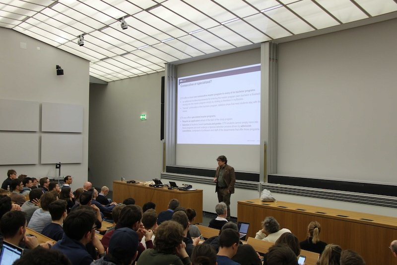 Master Your Master's event at ETH Zurich