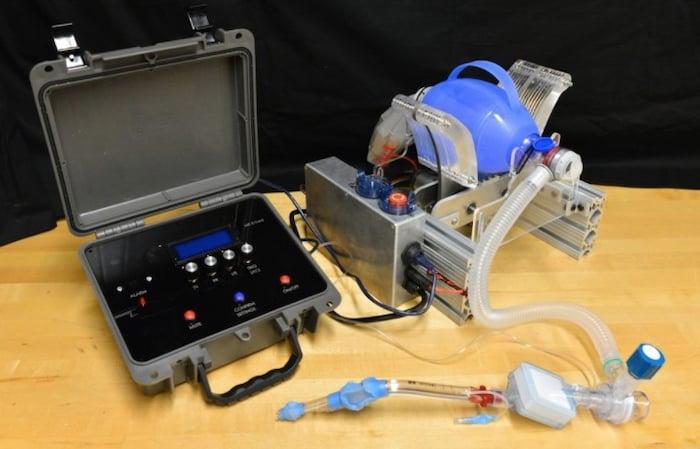 Emergency MIT ventilator