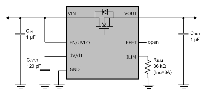 Example of application circuit.