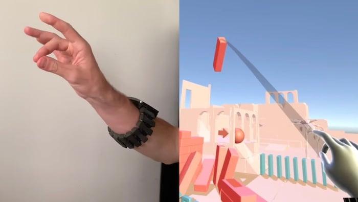 EMG wrist strap concept from Facebook.