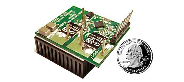Half-Bridge Evaluation Board from GaN Systems and ON Semiconductor.