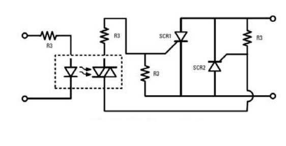 a triac as the output device of an ssr  image courtesy of solid-state relay  handbook with applications by anthony bishop