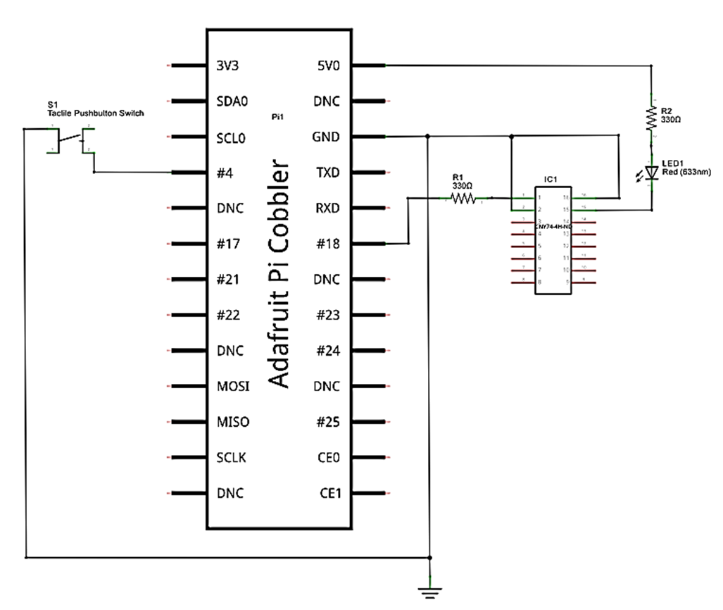 Figure9_RPi_LED_Flasher_circuit_schematic_diagram_rev build raspberry pi controllers led flasher led flasher wiring diagram at bayanpartner.co