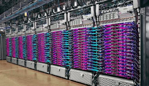 Google's cloud infrastructure is largely built in-house