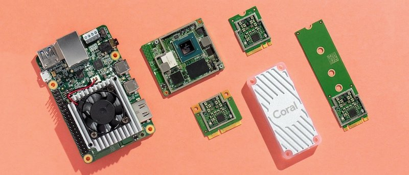 Google Coral AI products