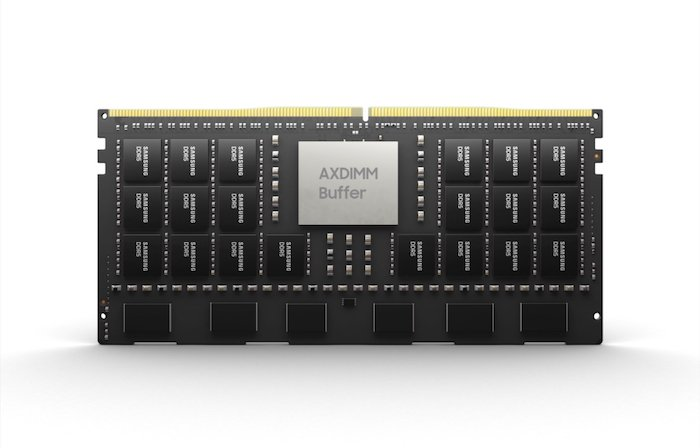 AXDIMM is a CPU memory data movement that avoids bottlenecks from happening in the system, using PIM will help this platform.