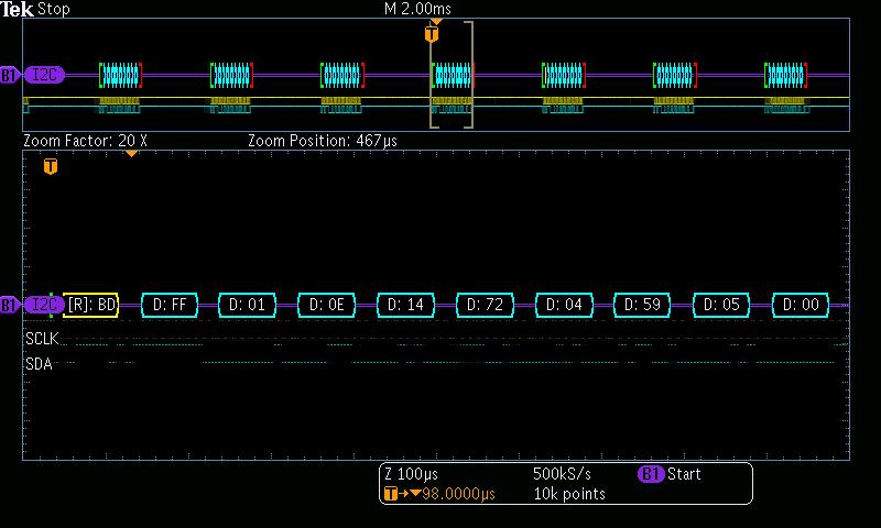 IIC / I2C code example?