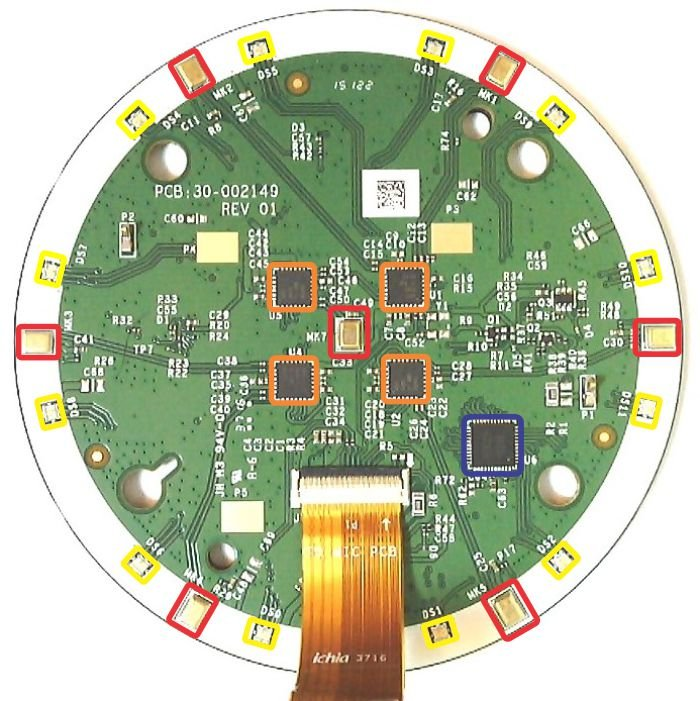 Amazon Echo Dot Circuit Board 1