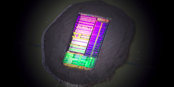 Hybrid electronic-photonic processor