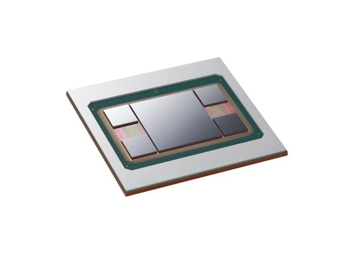 Samsung's new four HBM + Logic I-Cube4 technology.