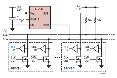 Diagram taken from the LTC4311 datasheet.