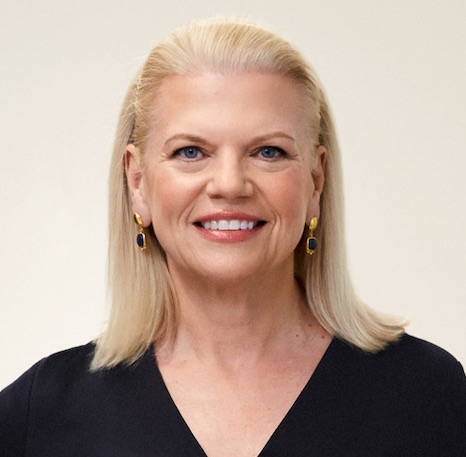 Ginni Rometty of IBM.