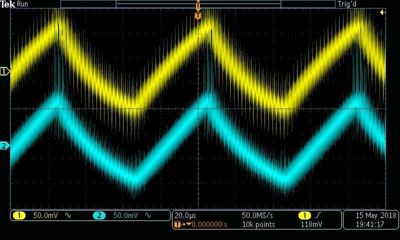 ±10 V, 470 Ω, burst mode