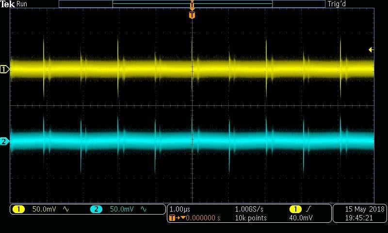 ±5 V, 100 Ω, burst mode