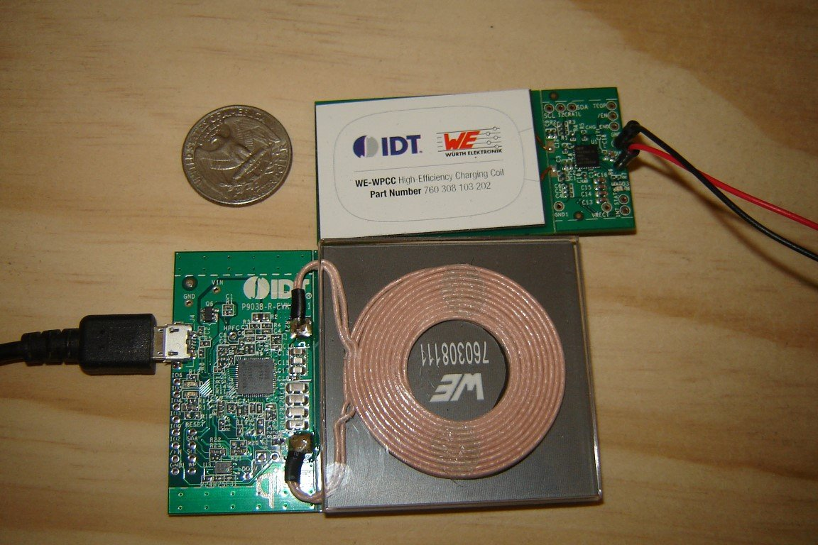 Incorporating Wireless Power with IDT's Tx/Rx Reference Kits