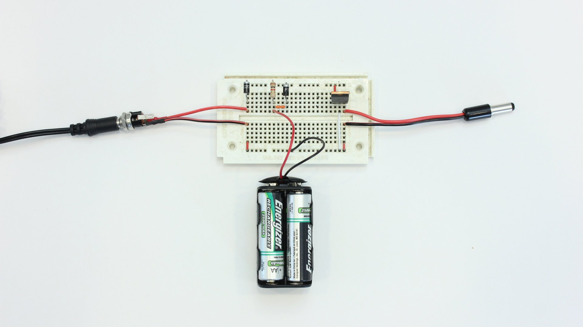 create your own battery backup power supplies