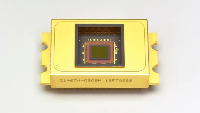 InGaAs used in an imaging chip