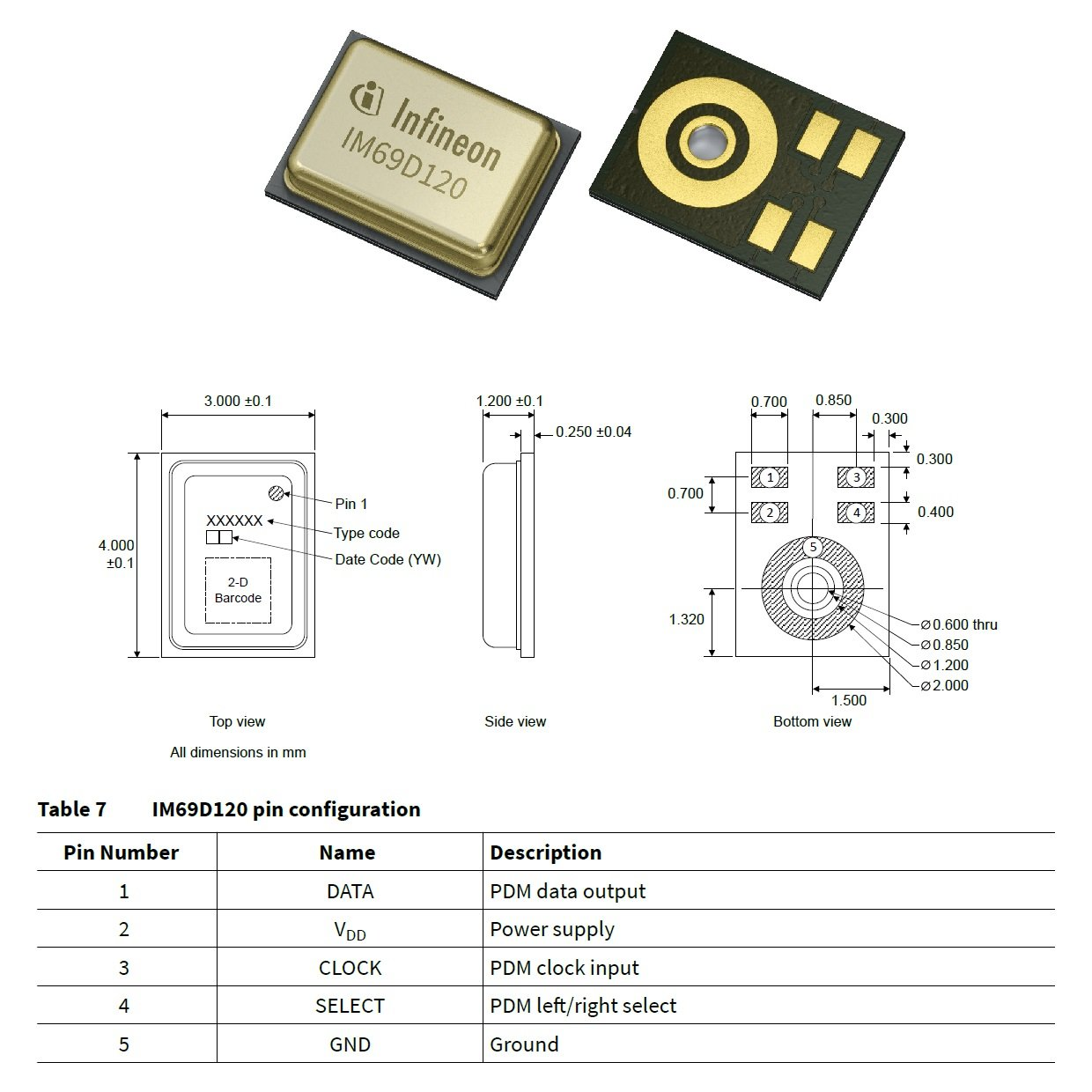 A New High-Performance Digital MEMS Microphone from Infineon
