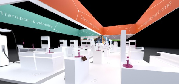 Infineon virtual booth.