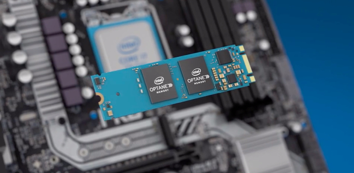 Intel Optane memory board