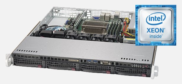 Intel server based around Xeon processors
